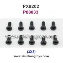 PXtoys 9202 Parts Screw P88033 3X8
