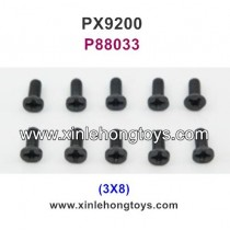 PXtoys 9200 Parts Screw P88033 3X8