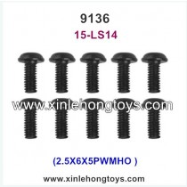 XinleHong Toys 9136 Parts Screw 15-LS14