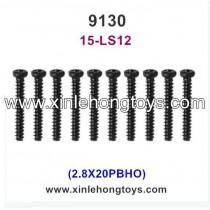 XinleHong Toys 9130 RC Truck Parts Screw 15-LS12