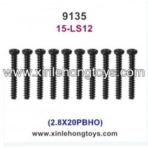 XinleHong Toys 9135 Spare Parts Screw 15-LS12