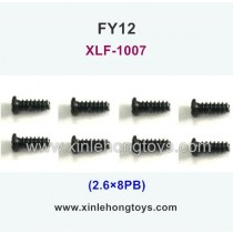 FeiYue FY12 Parts Screw 2.6×8KB XLF-1007