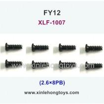 FeiYue FY12 Parts Screw 2.6×8KB XLF-1007