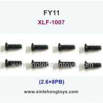 FeiYue FY11 Parts Screw 2.6×8KB XLF-1007