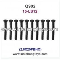 XinleHong Q902 Spare Parts Screw 15-LS12