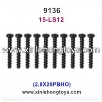 XinleHong Toys 9136 Spare Parts Screw 15-LS12