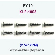 FeiYue FY10 Parts Screw 2.5×12PM XLF-1008