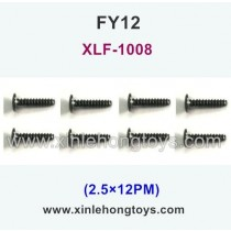 FeiYue FY12 Parts Screw 2.5×12PM XLF-1008