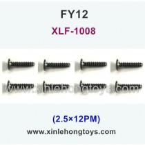 FeiYue FY12 Parts Screw 2.5×12PM XLF-1008