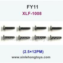 FeiYue FY11 Parts Screw 2.5×12PM XLF-1008