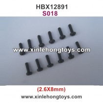 HBX Dune Thunder 12891 Parts Screw S018