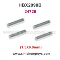 HaiBoXing HBX 2098B Parts Wheel Hex. Pin 1.5X6.9mm 24726