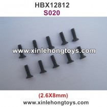 HBX 12812 Parts Screw S020