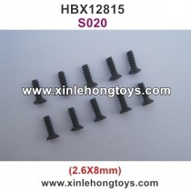 HBX 12815 Parts Screw S020