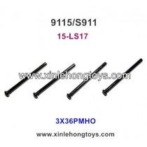 XinleHong 9115 Parts Screw 15-LS17