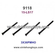 XinleHong Toys 9118 Parts Round Headed Screw 15-LS17 (3X36PMHO)