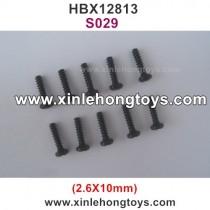 HBX SURVIVOR MT 12813 Parts Screw S029