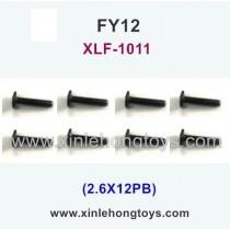 FeiYue FY12 Parts Screw 2.6X12PB XLF-1011