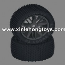 HBX T6 Parts Rear Wheels Tire TS059