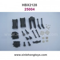 HaiBoXing HBX 2128 Parts Motor Mount+Battery Cover+Dogbones Drive Shaft+Diff.Small Bevel Gears+Wheel Drive Shafts+Drive Cups 25004