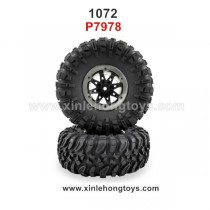 REMO HOBBY 1072 Parts Wheel, Tire