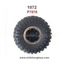 REMO HOBBY 1072 Parts Tire, Wheel