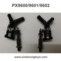 PXtoys 9600 9601 9602 Parts Shock Absorber+Steering Universal Wheel +Wheel Seat (Left+Right)