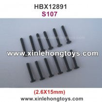 HBX 12891 Parts Screw S107