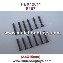 HBX 12811 Parts Screw S107