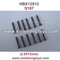 HBX 12812 Parts Screw S107