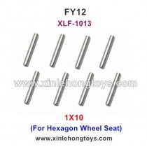 FeiYue FY12 Parts 1X10 Steel Pipe, Optical Shaft XLF-1013 (For Hexagon Wheel Seat)