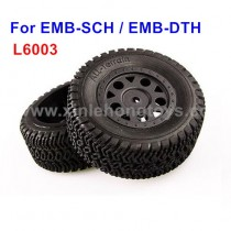 LC Racing EMB-SCH EMB-DTH Parts Tire, Wheel L6003