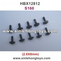 HBX 12812 SURVIVOR MT Parts Screw S160