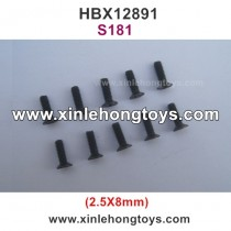 HBX 12891 Parts Screw S181