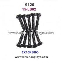 XinleHong Toys 9120 Parts Countersunk Head Screws 15-LS02 (2X10KBHO)