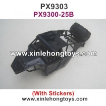 PXtoys 9303 Car Shell, Body Shell PX9300-25B