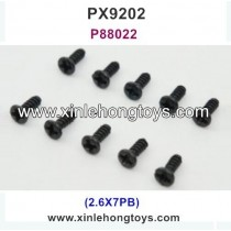 PXtoys 9202 Parts Screw P88022 2.6X7PB
