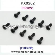 PXtoys 9202 Parts Screw P88022 2.6X7PB