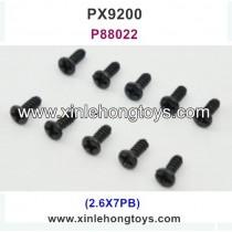 PXtoys 9200 Parts Screw P88022 2.6X7PB