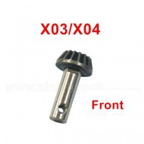 XLF X03 X04 Front Small Bevel Gear parts