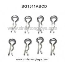 Subotech BG1511A BG1511B BG1511C BG1511D Parts R-Shape Lock Catch, Shell Pin