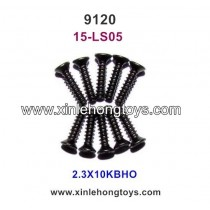 XinleHong Toys 9120 Parts Countersunk Head Screw 15-LS05 (2.3X10KBHO)