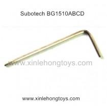 Subotech BG1510A BG1510B BG1510C BG1510D Parts L-type Allen wrench