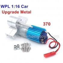 WPL B16 B1 Upgrade Metal Gearbox, With 370 Motor
