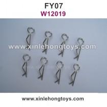 Feiyue FY07 Desert-7 Parts R-Shape Fixing Pin, Body Clips W12019
