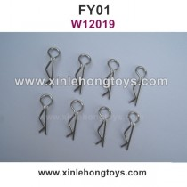 Feiyue FY01 Parts R-Shape Fixing Pin, Body Clips W12019