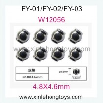Feiyue FY03 Parts Ball Sets W12056 (4.8X4.6mm)