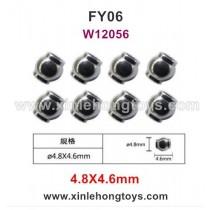 Feiyue FY06 Parts 4.8X4.6mm Pivot Ball Screws W12056