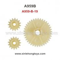 WLtoys A959B Parts Reduction Gear+Drive Gear A959-B-19