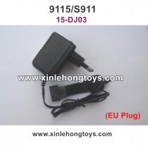 XinleHong Toys 9115 S911 Parts Charger 15-DJ03 EU Plug